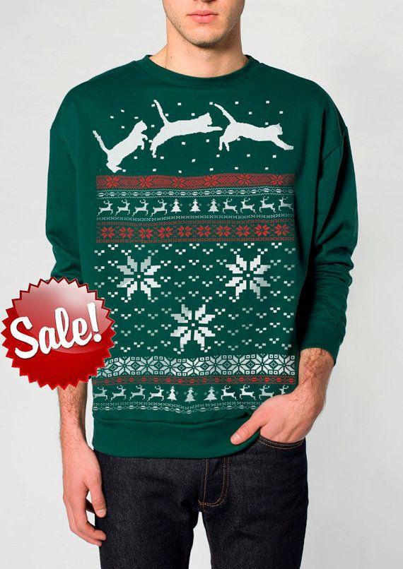 Cat Christmas Sweater.Pin On Winter Holidays