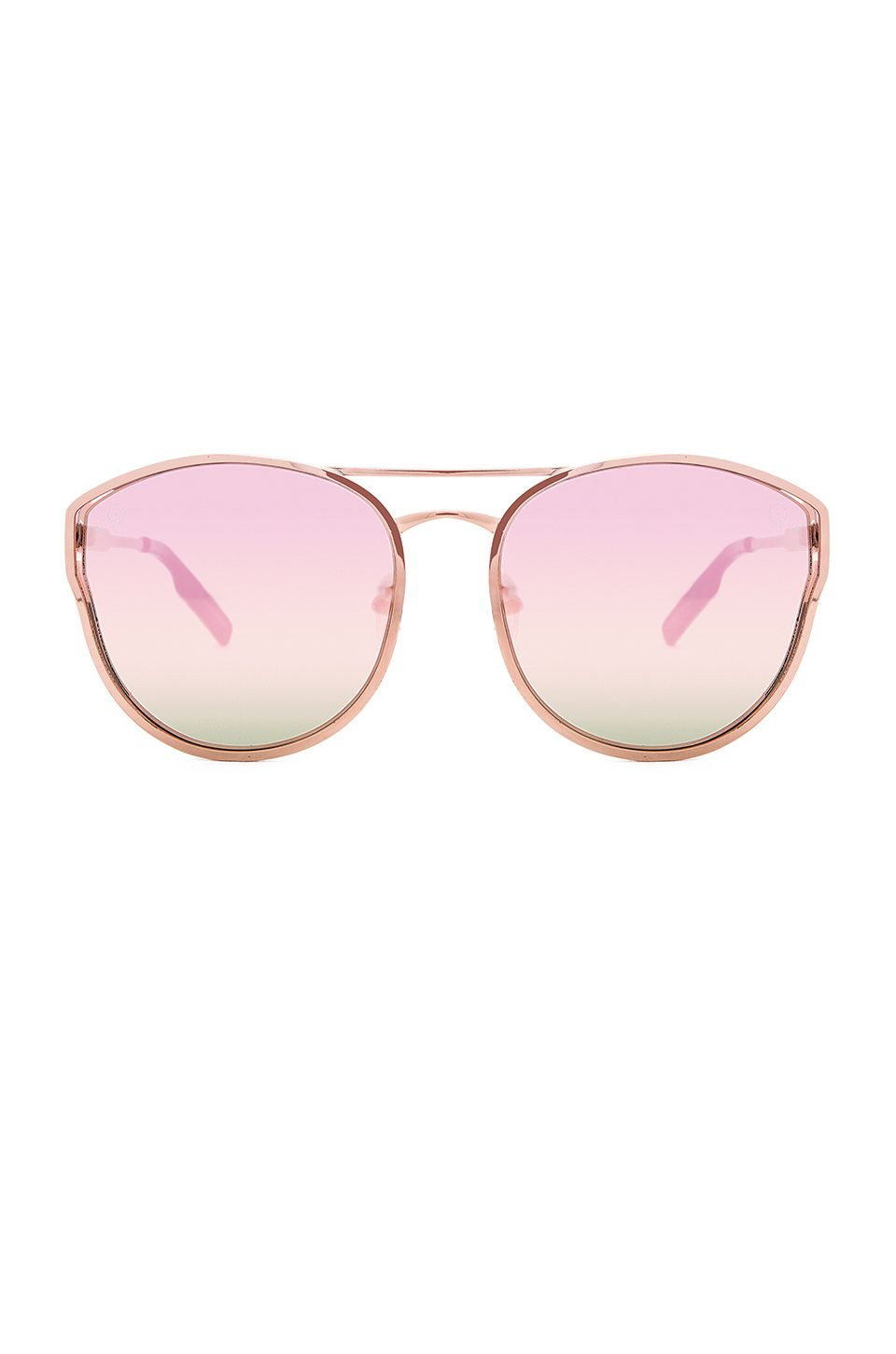 Quay Cherry Bomb Sunglasses in Rose Gold | Sunnies | Pinterest ...