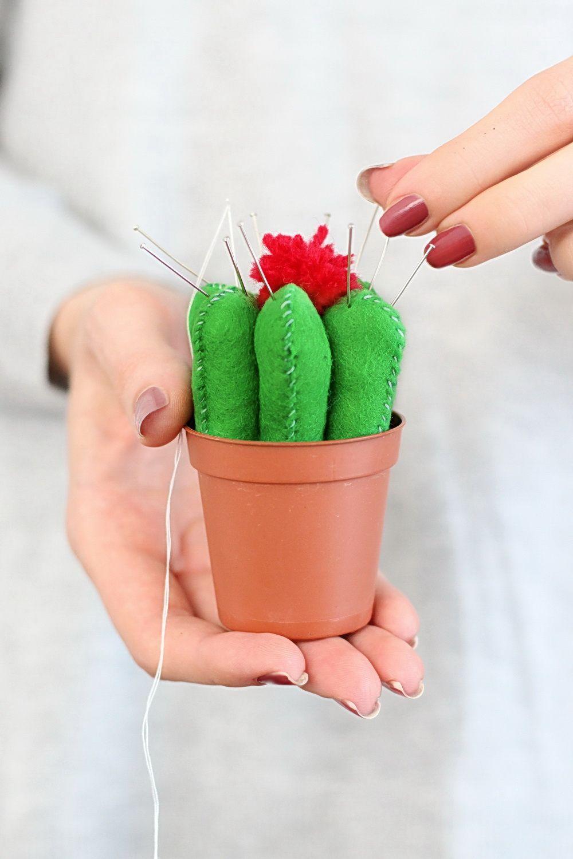 Kaktus Nadelkissen DIY
