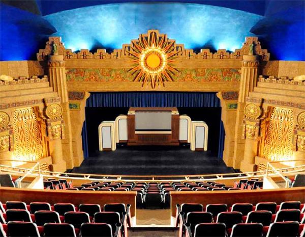 The Aztec Theater Spanish Conquistador Downtown San Antonio Mayan Culture