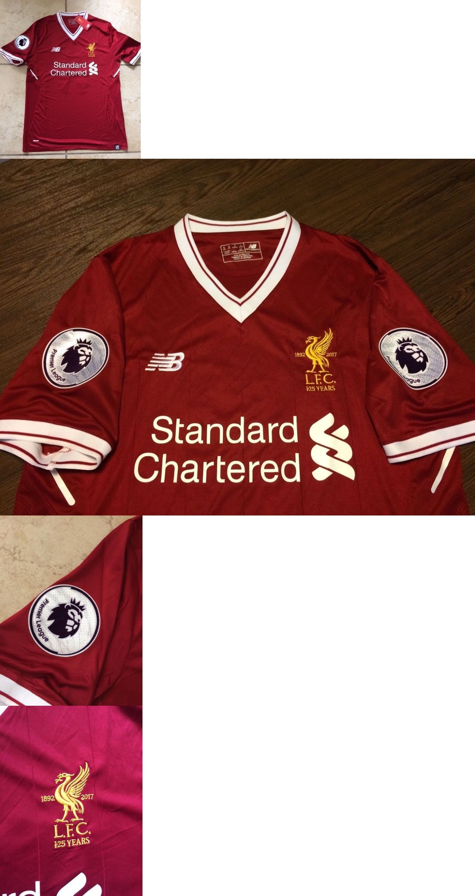 d956c5981 ... Soccer-International Clubs 2887 Firmino 9 Liverpool Home Jersey Mohamed  Salah With 2 Premier ...