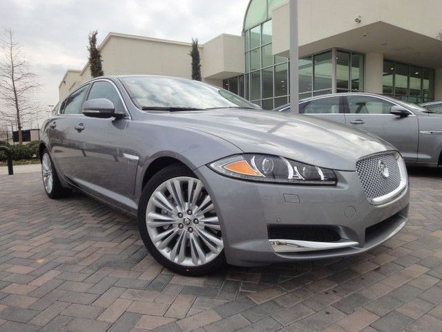 2012 Jaguar XF Portfolio Sedan In Lunar Grey At Park Place Jaguar Plano