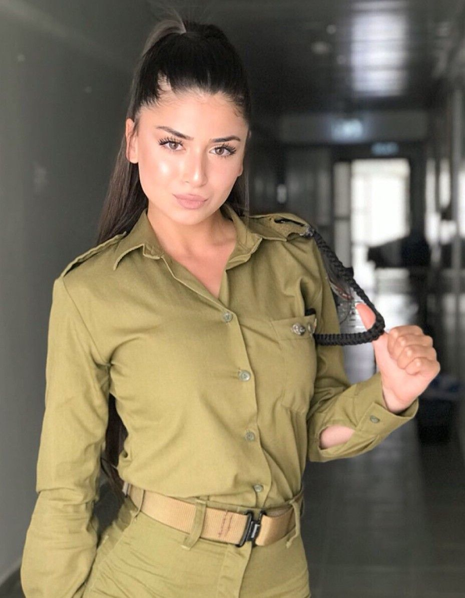 IDF Israel Defense Forces Women Military women, Idf