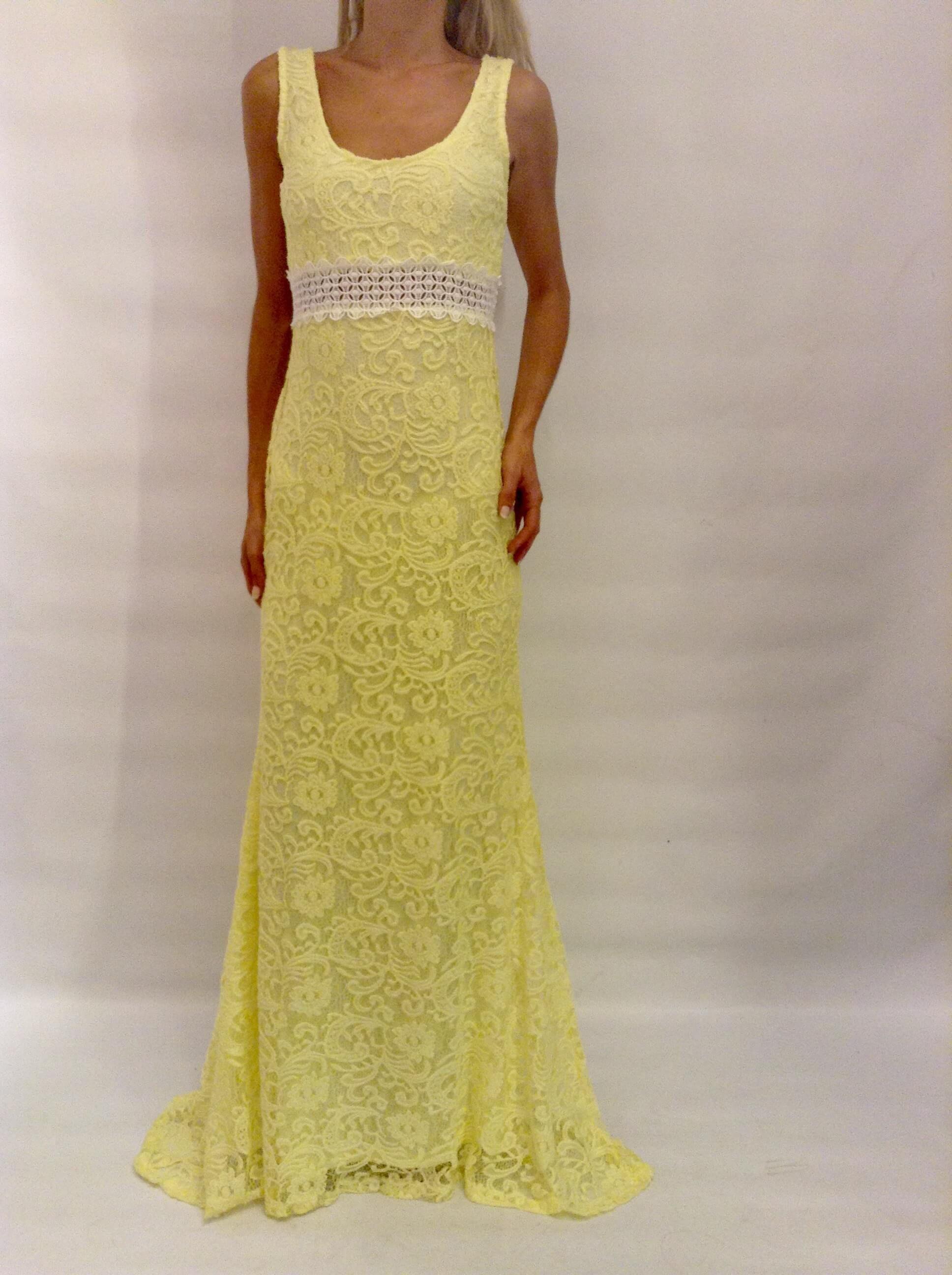 94368d05fef6 Maxi φόρεμα από δαντέλα στο www.primadonna.com.gr