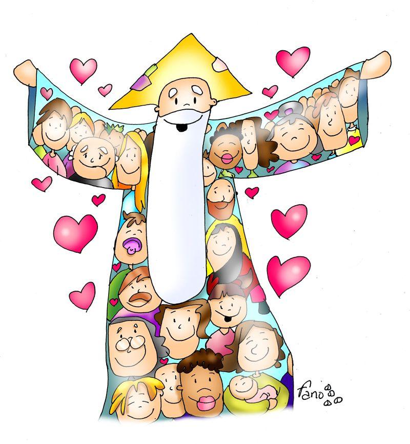 Feliz Dia De Todos Los Santos Dibujos Fano Cantos Para Niños Imágenes Catolicas