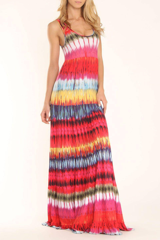 Brooklyn Dress In Multi Drip