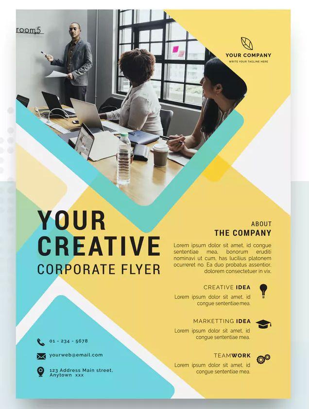 Bener Professional Business Flyer Template Psd Download Business Flyer Templates Business Flyer Flyer
