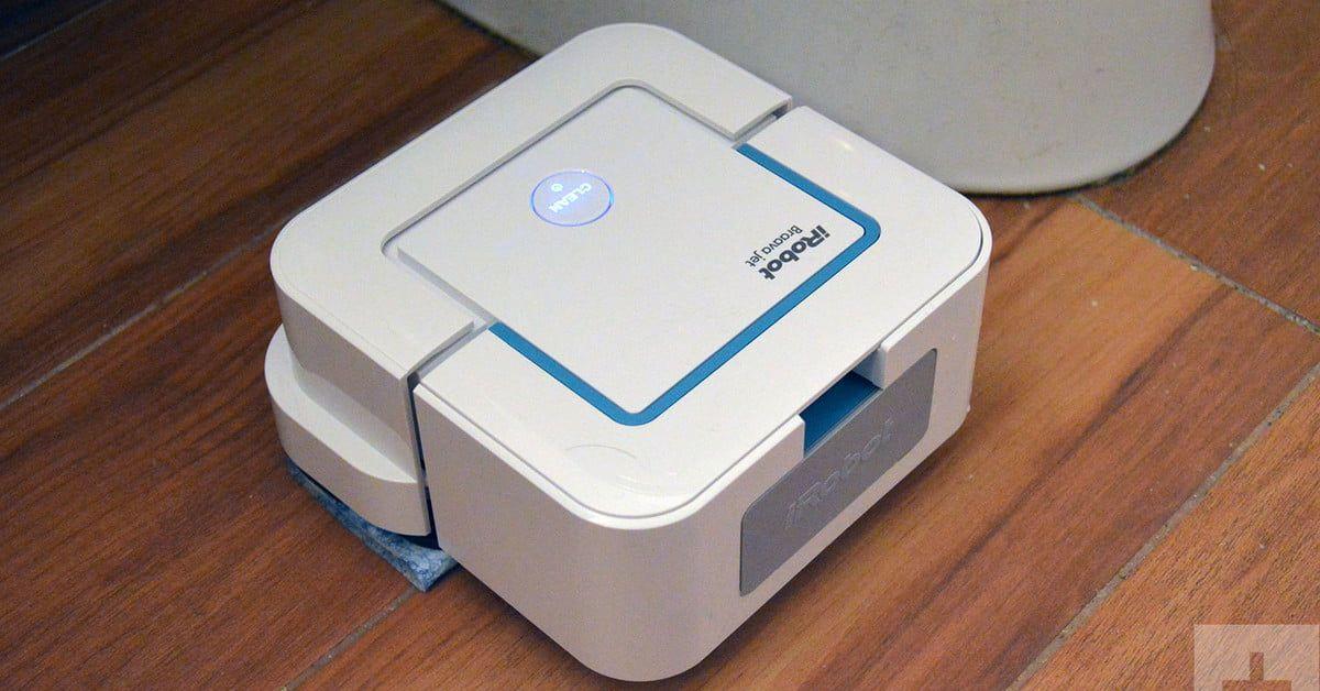 Braava Jet 240 Robot Mopper Will Make You Feel A Lot Better About Going Barefoot Irobot Braava Irobot Floor Cleaner