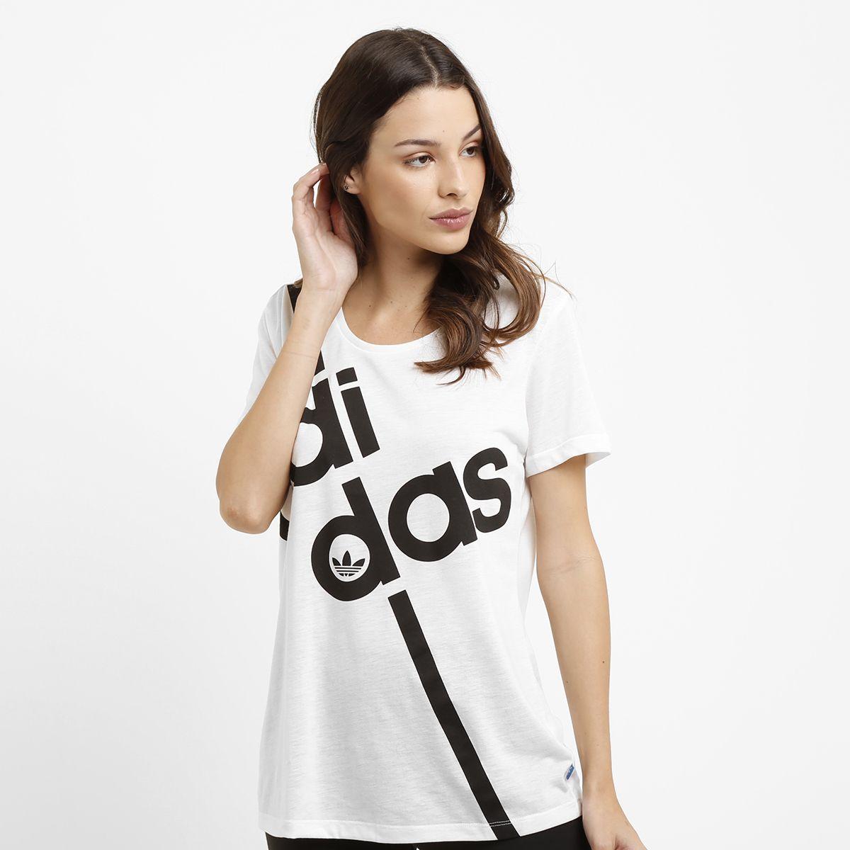 Camiseta Adidas Fashion Graphic Branco   Netshoes