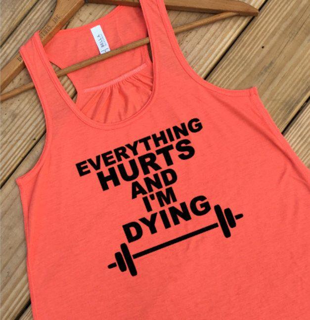Women S Gym Tank Marathon Shirt Women S Shirt Funny Running Shirt Fitness Tank Workout Clothes Workout Womens Shirts Funny Running Shirts Marathon Shirts
