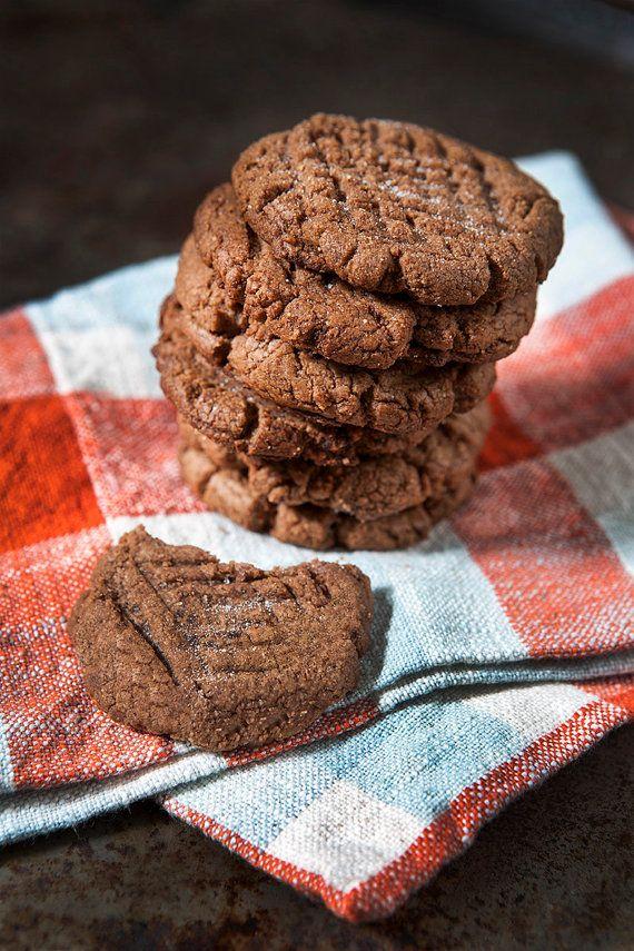 Gluten Free Chocolate Peanut Butter Cookies