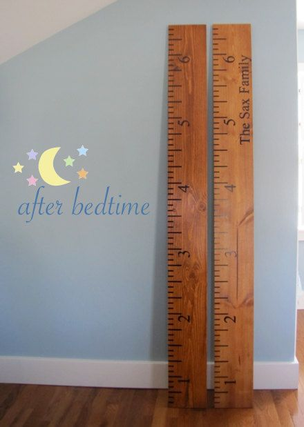 Personalized Eco Wooden Ruler Growth Chart Every Ruler Is Finished With A Varnish That Is Non Toxic Growth Chart Ruler Wooden Ruler Growth Chart Growth Chart