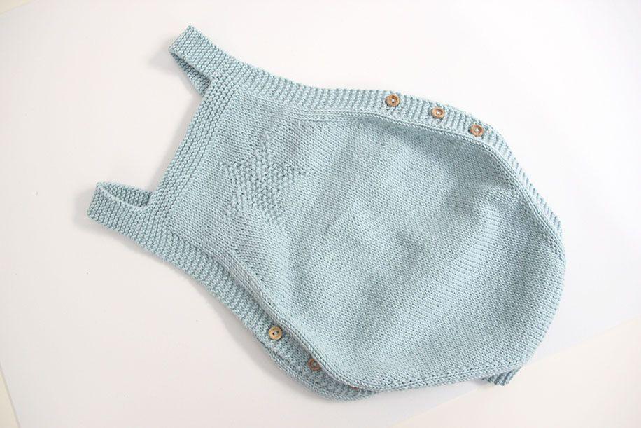 1589e13aa diy patrones gratis pelele peto tejido dos agujas 13 Petos Bebe