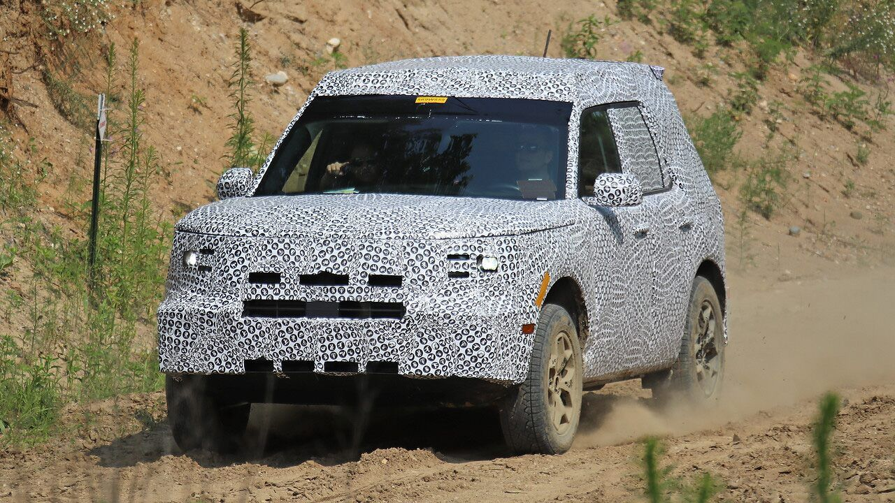 Spied Baby Ford Bronco Caught On Camera Ahead Of Upcoming Reveal Ford Bronco Ford Bronco Sports