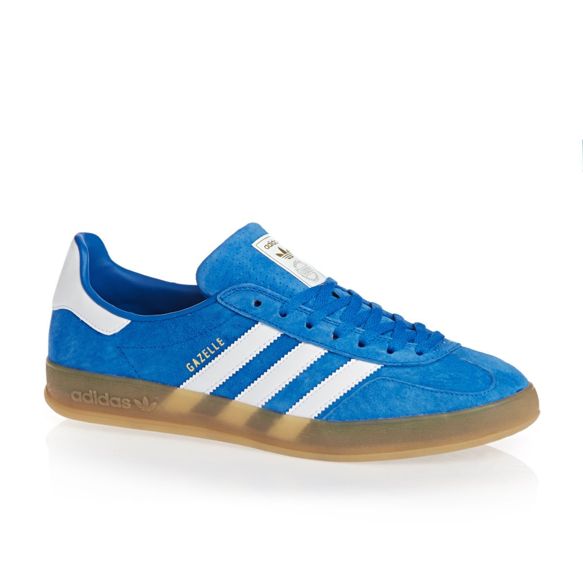 adidas originals Gazelle Indoor Shoes - Bluebird/white/gum