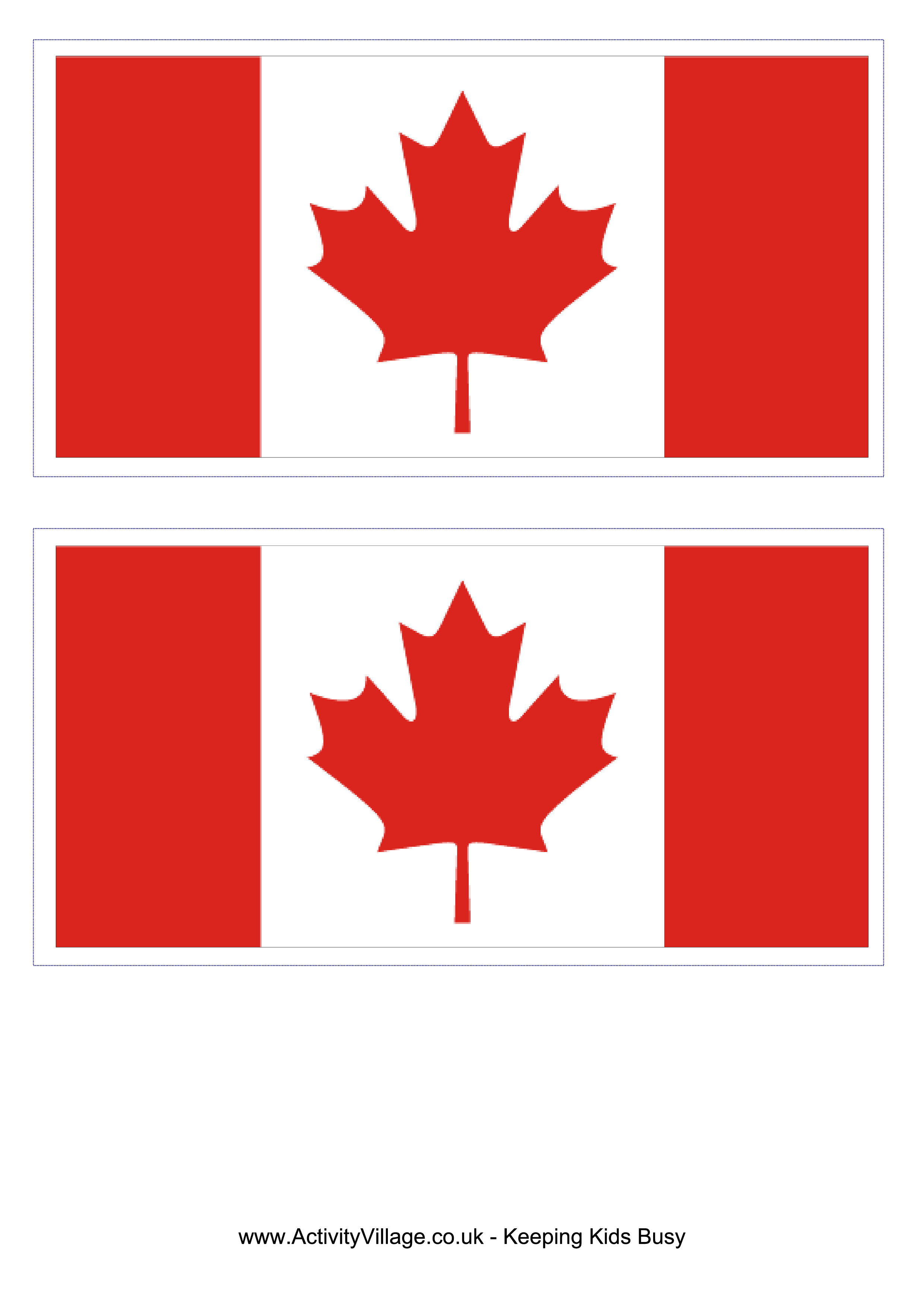 graphic about Printable Canadian Flag called Canadian Flag - Absolutely free Printable Canadian Flag Templates