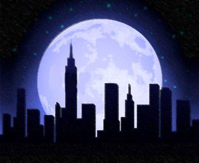 city-skylines-at-night-paintings-444835.jpg 400×329 pixels ...