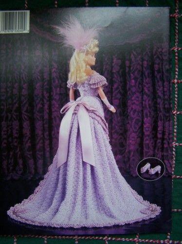 barbie crochet ball gown patterns free | Paradise Crochet Costume ...