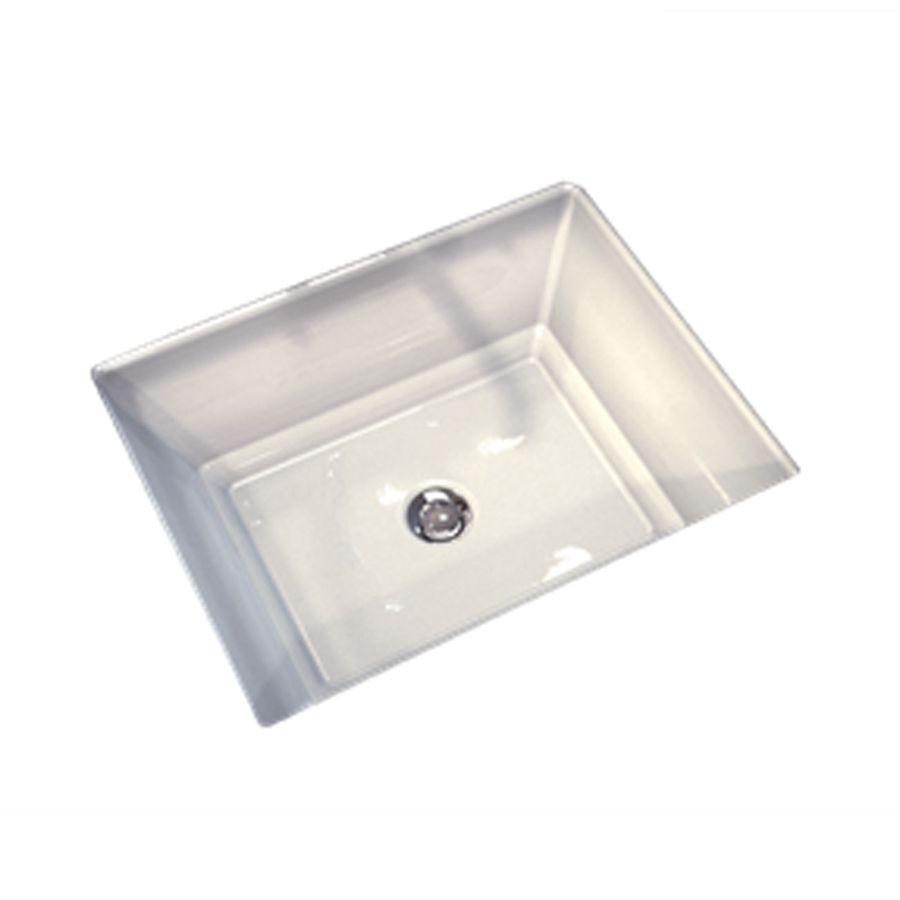 American Standard Esteem White Undermount Rectangular Bathroom Sink With  Overflow Needed 12x18 / Inside 11.5x17