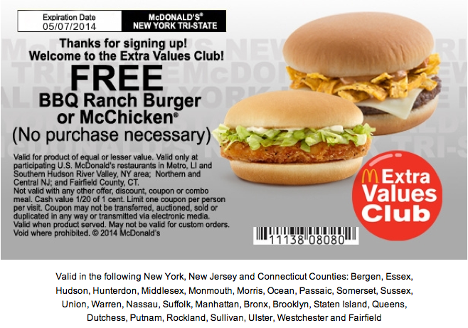 Mcdonalds Germany Coupons