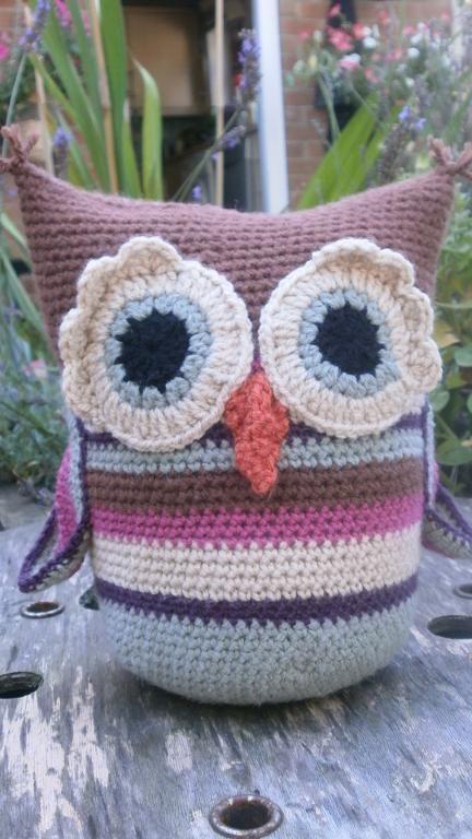 Shabby Chic Little Owl Doorstop | Gorro aviador y Bricolaje