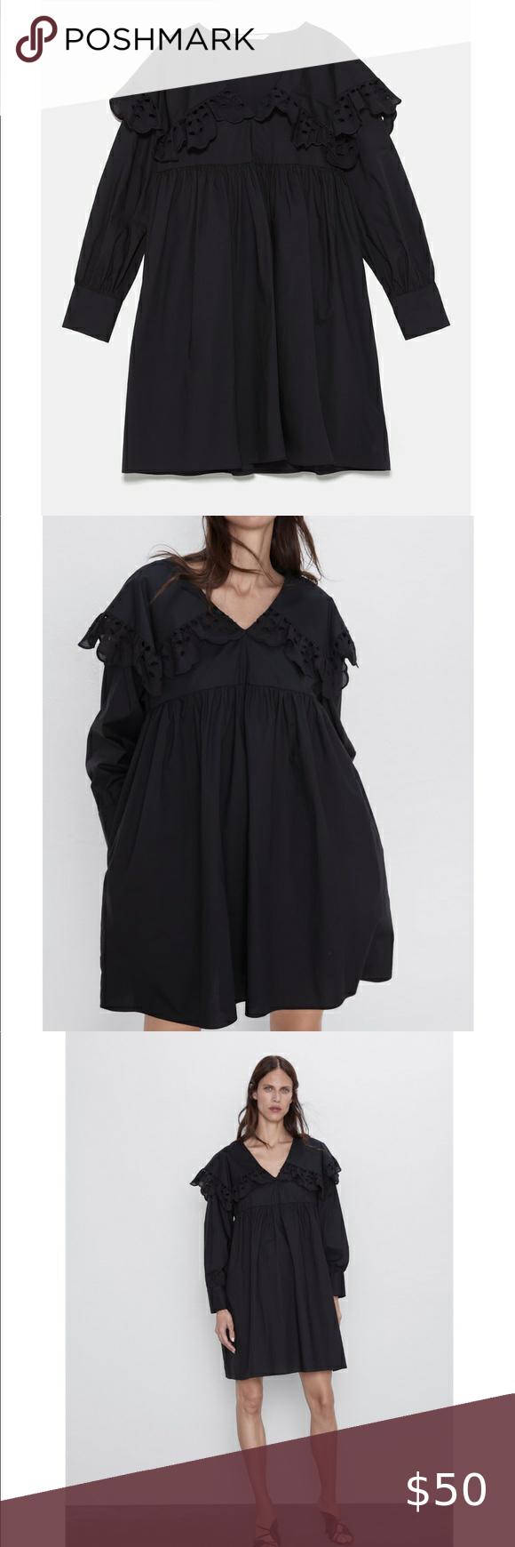 Zara Poplin Dress Poplin Dress Zara Poplin Dress Black Poplin Dress [ 1740 x 580 Pixel ]