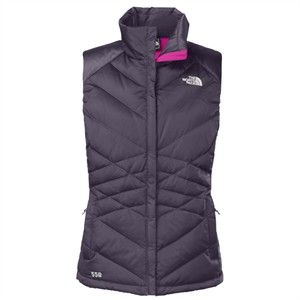The North Face Women's Aconcagua Vest features goose down insulation and is zip-in compatible with complementing garments.