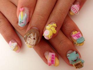 *aminail* Japanese 3D Nail Art