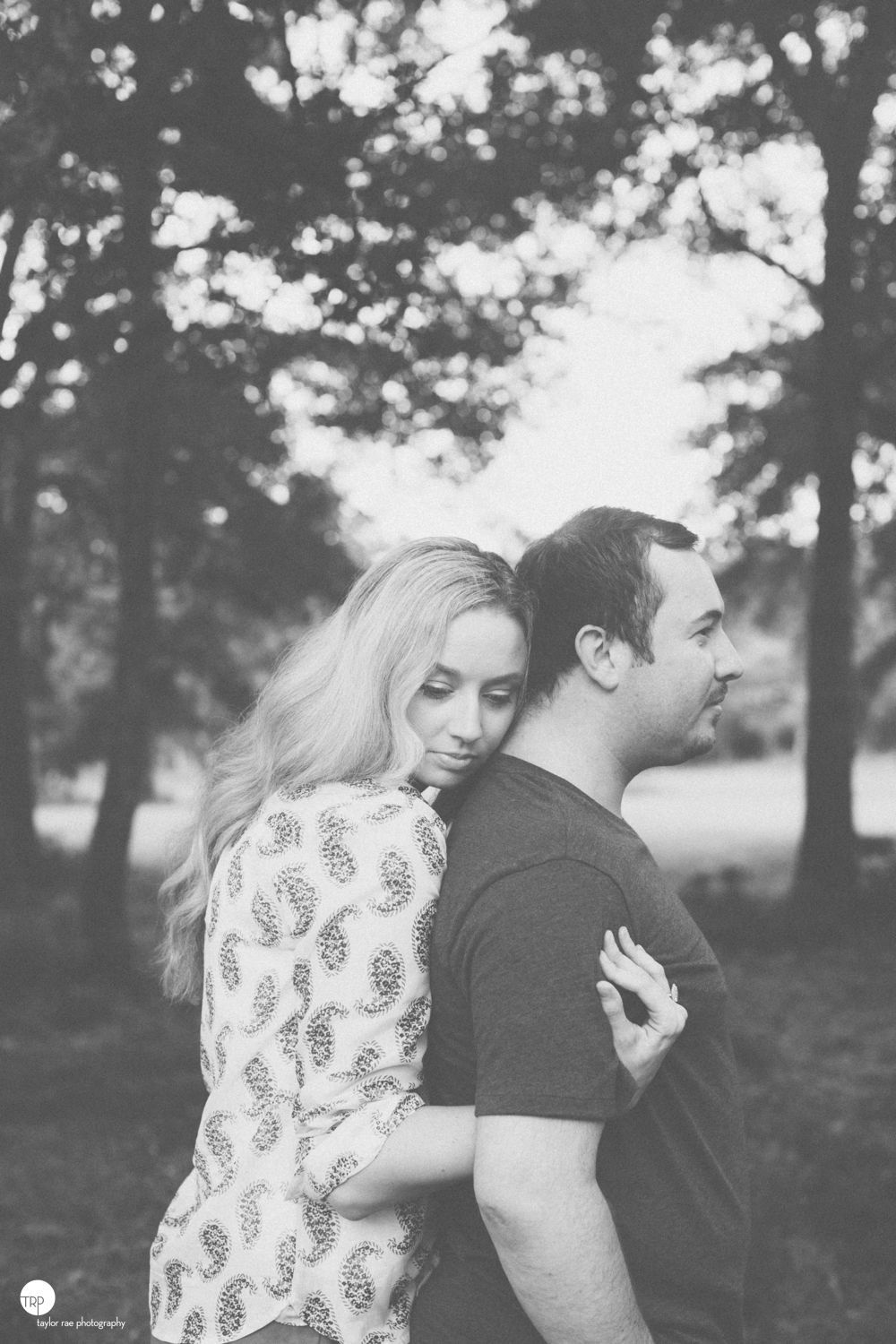 cuddle.  Engagement session by Taylor Rae Photography.