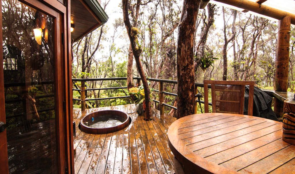 The 25 Coolest Treehouses On Airbnb Treehouse Hotel Volcano National Park Tree House