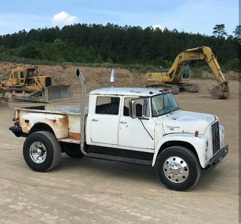 International Loadstar Crew Cab Custom Pickup Truck Conversion