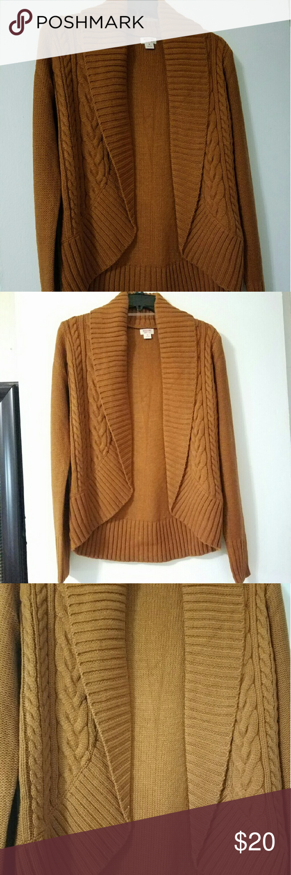 Bronze colored cardigan NWT | Sweater cardigan, Colors and Cardigans