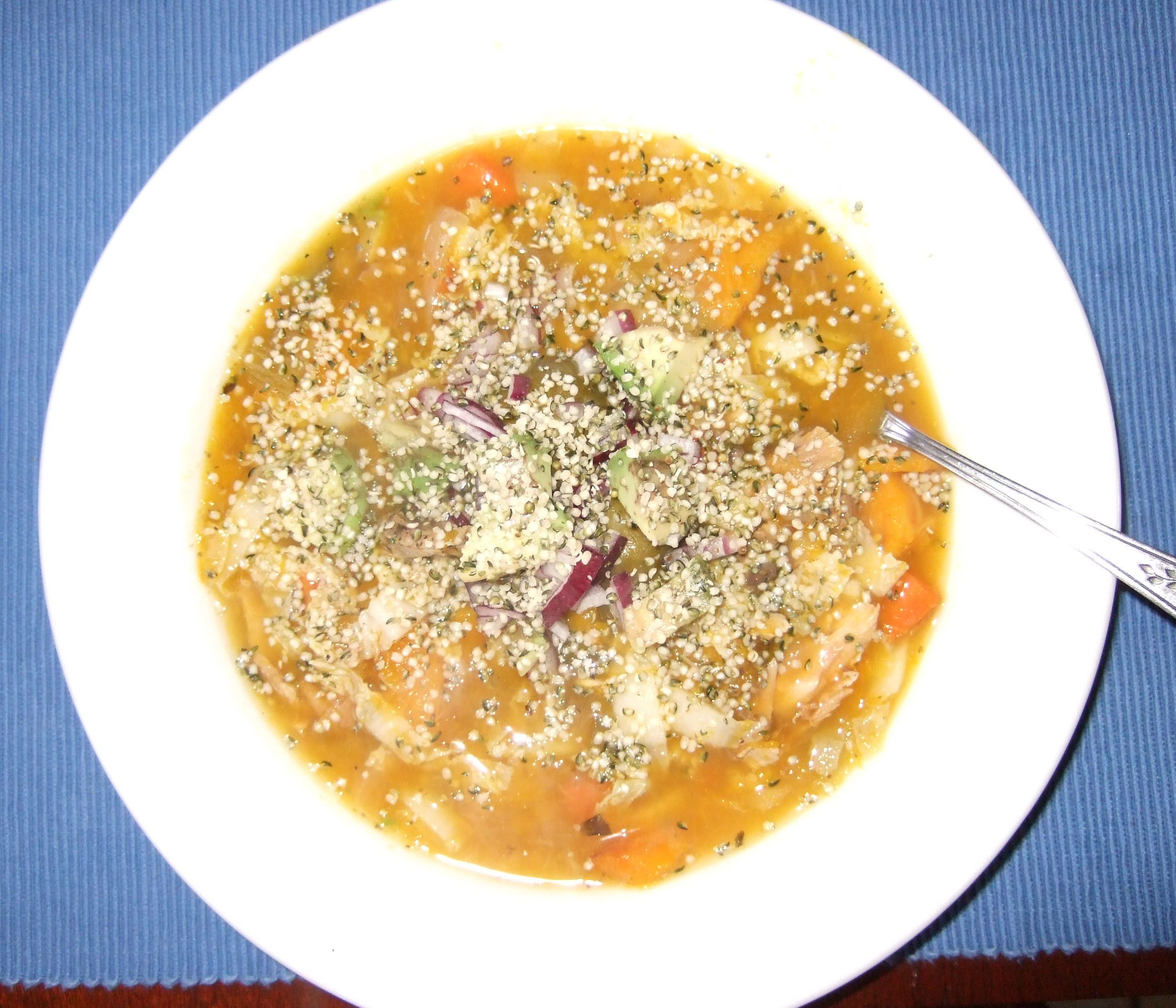 Chicken Bone Soup - whats for lunch