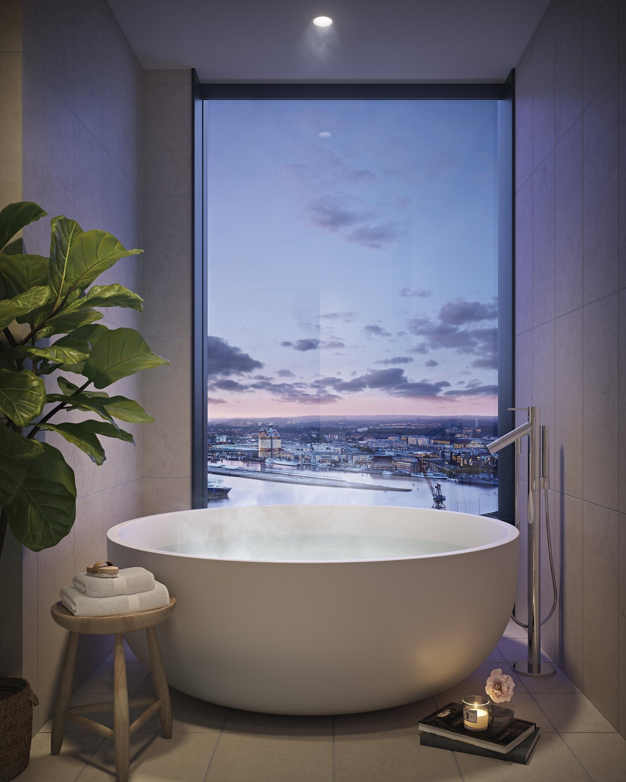 Karlatornet badrum Low-Rise - KUB arkitekter | Bathroom inspiration ...