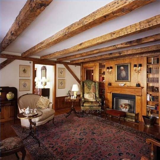 Exposed Ceiling Beams Ideas For The Cabin Bedroom
