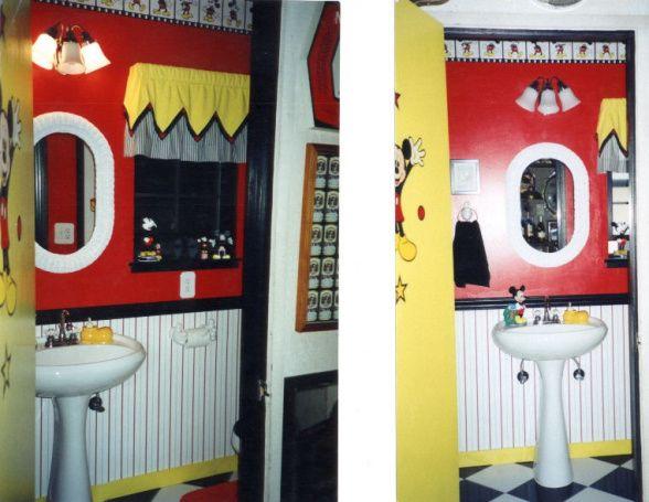 Mickey Mouse Themed Bathroom Mickey Mouse Bathroom Mickey Mouse