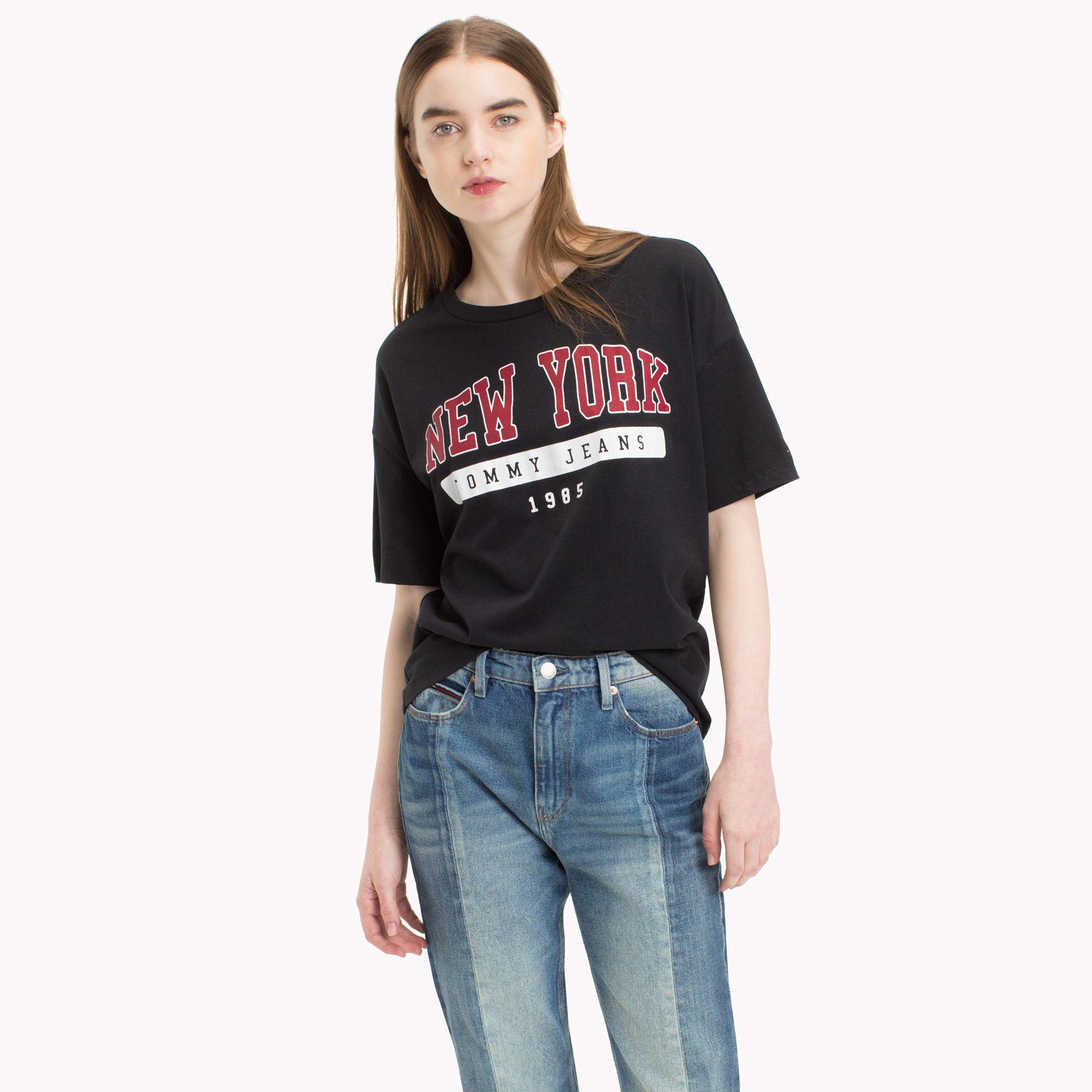 45f83017 Boyfriend New York T-Shirt by Tommy Hilfiger | Products | Tommy ...