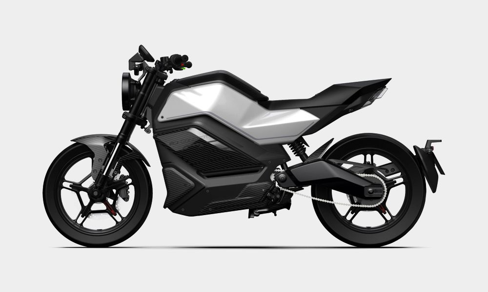 Niu Rqi Gt Electric Motorcycle Cool Material Electric Motorcycle Electric Bike Futuristic Motorcycle