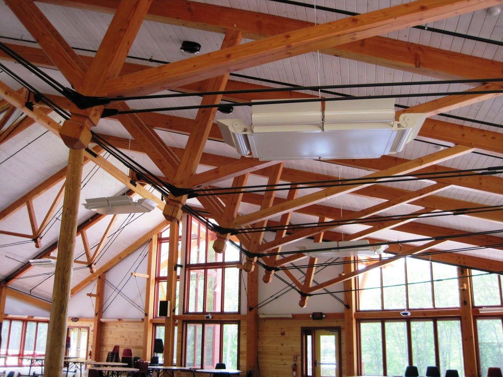Beautiful Heavy Timber Construction by Vermont Timber Works ...