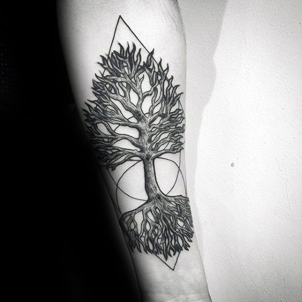 60 Tree Roots Tattoo Designs For Men Manly Ink Ideas Roots Tattoo Tattoo Designs Men Tree Roots Tattoo