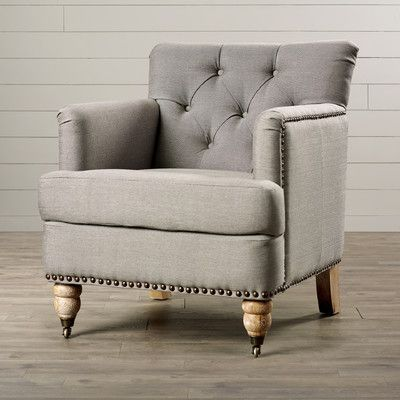Sevigny Armchair Tufted Arm Chair Accent Chairs