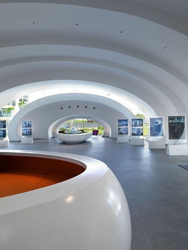 Modern Pod Pavilion By Studio Nicoletti Associate Great Ideas