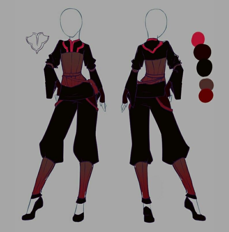 Rika Dono Anime Outfits Fashion Design Drawings Art Clothes