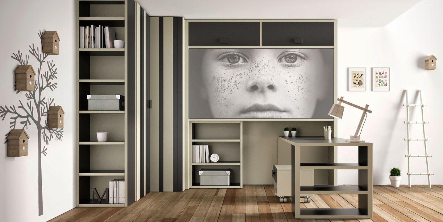 Dormitorios infantiles y juveniles para ni as ni os y for Decoracion habitacion juvenil nino