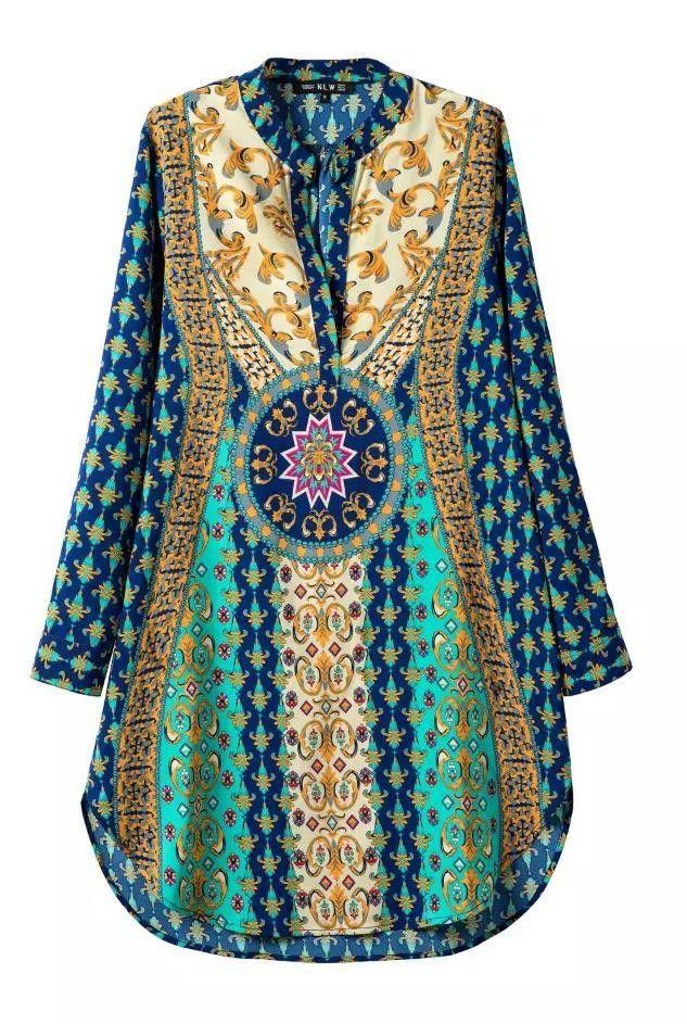2016 Women Summer Sexy Bohemian Dress