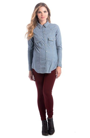 5f09ad06 Product Image 0 Maternity Fashion, Nordstrom, Pregnancy Shirts, Clothes, Button  Down Shirt