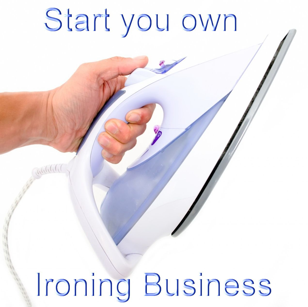 How to Start Your Own Ironing Business From Home | Earning money ...