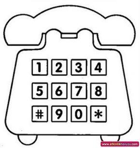 Okul öncesi Telefon Sanat Etkinliği Ile Ilgili Görsel Sonucu A