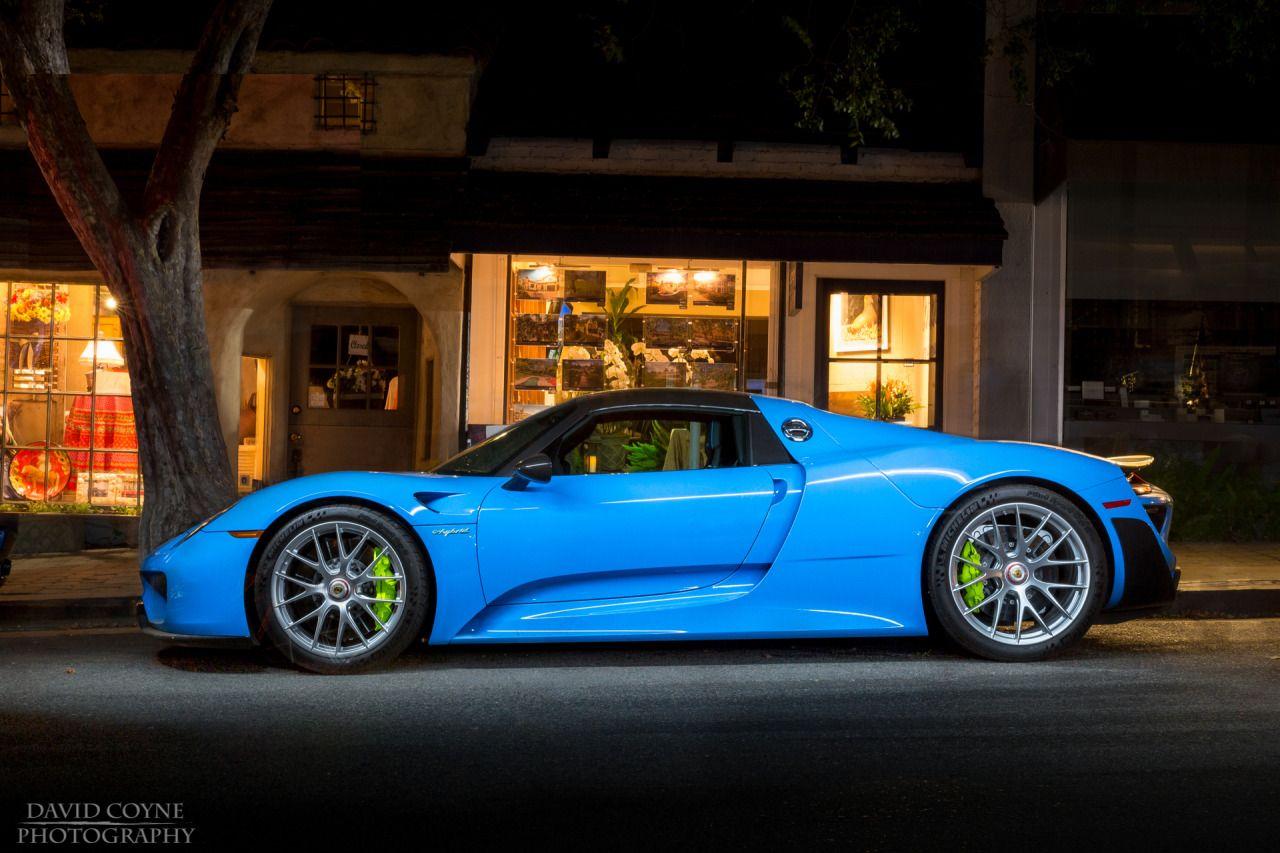 SSsupersports Light Blue Porsche 918 Spyder by David