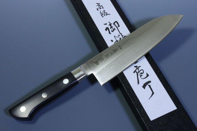 Tojiro Japanese Kitchen Chef Knife DP VG10 Damascus Kasumi Santoku F/S F-507 #ad